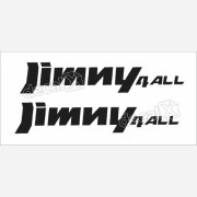 Emblema Adesivo Suzuki Jimny 4all Par