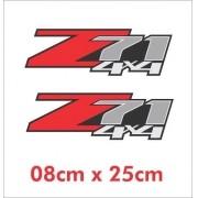 Emblema Adesivo Z71 4x4 Jeep Willys Renegade Cherokee Ad36
