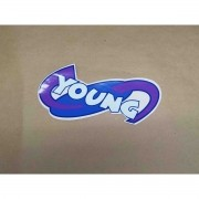 Emblema Young Lateral Fiat Palio Grande Dx0225