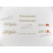 Kit Adesivo Emblema Kawasaki Ninja NINJA ZX-2r Zx2rc
