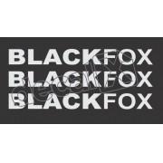 Kit Adesivo Emblema Volkswagen Fox Blackfox 2010