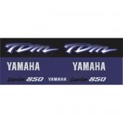 Kit Adesivo Emblema Yamaha Tdm 850 Azul Yhtdm85010