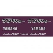 Kit Adesivo Emblema Yamaha Tdm 850 Bordo Yhtdm85008