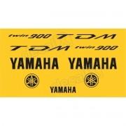 Kit Adesivo Emblema Yamaha Tdm 900 Amarela Yhtdm90004