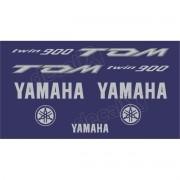 Kit Adesivo Emblema Yamaha Tdm 900 Azul Yhtdm90003
