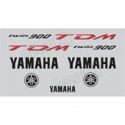 Kit Adesivo Emblema Yamaha Tdm 900 Prata Yhtdm90002