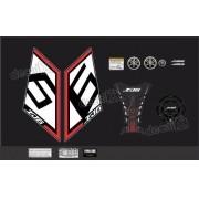 Kit Adesivo Emblema Yamaha Xj6 Sp + Tankpad Resinado Xj6sp07