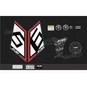 Kit Adesivo Emblema Yamaha Xj6 Sp + Tankpad Resinado Xj6sp08