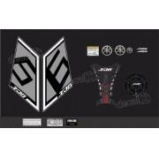 Kit Adesivo Emblema Yamaha Xj6 Sp + Tankpad Resinado Xj6sp10
