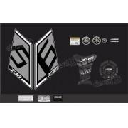Kit Adesivo Emblema Yamaha Xj6 Sp + Tankpad Resinado Xj6sp11