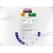 Kit Adesivo Etiqueta Motor Ford Maverick 2.3l Et02