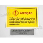 Kit Adesivo Etiqueta Motor Ford Troller Et05
