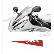 Kit Adesivo Faixa Bolha Yamaha R6 R6019