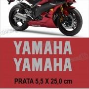 Kit Adesivo Faixa Spoiler Yamaha R6 R6007