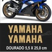 Kit Adesivo Faixa Spoiler Yamaha R6 R6008