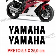 Kit Adesivo Faixa Spoiler Yamaha R6 R6010
