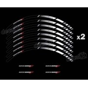 Kit Adesivo Friso Refletivo Roda Moto Suzuki Gs 650f Fri59