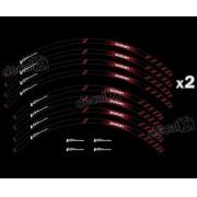 Kit Adesivo Friso Refletivo Roda Moto Suzuki Vstrom Fri66