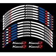 Kit Adesivo Friso Refletivo Roda Moto Yamaha K1200r Fri26