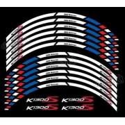 Kit Adesivo Friso Refletivo Roda Moto Yamaha K1300s Fri27