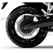 Kit Adesivo Friso Refletivo Roda Moto Yamaha Tenere 1200 F58