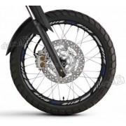 Kit Adesivo Friso Refletivo Roda Moto Yamaha Xtx Fri35