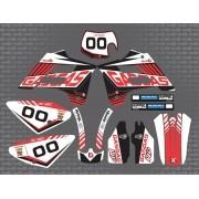 Kit Adesivo Moto Cross Trilha Gas Gas 250 2004 0,60mm 3m 002