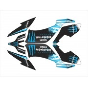 Kit Adesivo Quadriciclo Yamaha Raptor 250 2008 0,60mm 3m 016