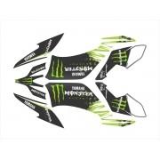 Kit Adesivo Quadriciclo Yamaha Raptor 250 2010 0,60mm 3m 015