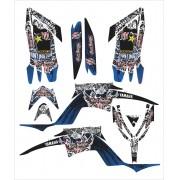 Kit Adesivo Quadriciclo Yamaha Raptor 700 2013 0,60mm 3m 048