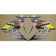 Kit Adesivo Suzuki Gsxr 1000 2004 Amarela E Cinza
