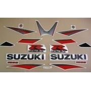 Kit Adesivo Suzuki Gsxr 1000 2005 Cinza E Preta