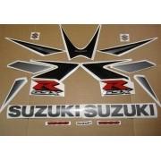 Kit Adesivo Suzuki Gsxr 1000 2006 Cinza E Preta