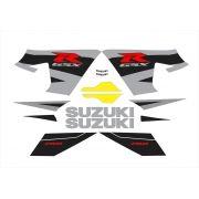 Kit Adesivo Suzuki Gsxr 750 2004 Amarela E Preta 75004ap