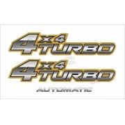 Kit Adesivo Toyota Hilux 4x4 Turbo 2006 A 2008
