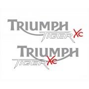 Kit Adesivo Triumph Tiger 800xc 800 Xc 2013 Preta Tg007