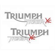 Kit Adesivo Triumph Tiger 800xc 800 Xc 2014 Preta Tg007