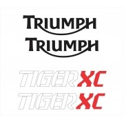 Kit Adesivo Triumph Tiger 800xc 800 Xc 2017 Branca Tg011