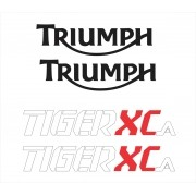 Kit Adesivo Triumph Tiger 800xca 800 Xca 2018 Branca Tg013