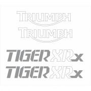 Kit Adesivo Triumph Tiger 800xrx 800 Xrx Azul Tg029