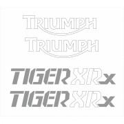 Kit Adesivo Triumph Tiger 800xrx 800 Xrx Preta Tg031
