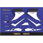 Kit Adesivos Yamaha R1 2008 Azul R108az