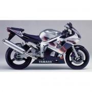 Kit Adesivos Yamaha R6 1999 Prata E Preta R699pp