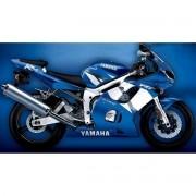 Kit Adesivo Yamaha R6 2002 Azul
