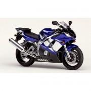 Kit Adesivo Yamaha R6 2002 Azul Europeia
