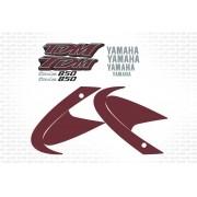 Kit Adesivo Yamaha Tdm 850 2001 Vermelha Tdm850 Yhtdm85016