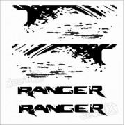 Kit Adesivofaixas Laterais Ford Ranger Ran75
