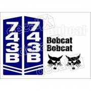 Kit Adesivos Bobcat 743b Decalx