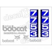 Kit Adesivos Bobcat 7753 Decalx