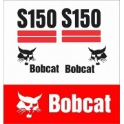 Kit Adesivos Bobcat S150 As150 Decalx